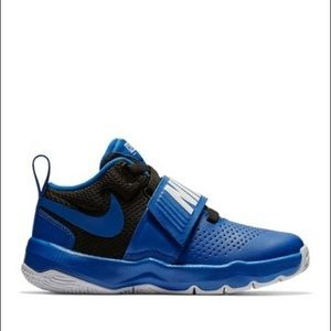 Nike Team Hustle D8 Kids Blue white Sneakers New